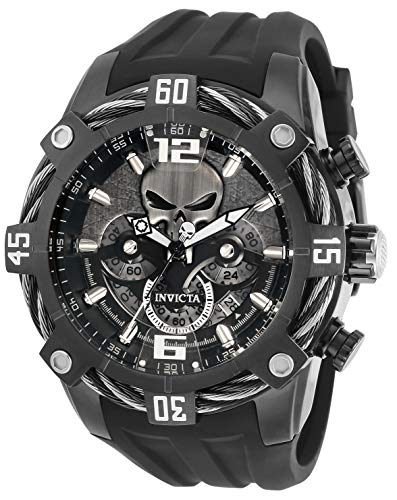 Invicta Marvel – Punisher 33163 - Reloj de hombre de cuarzo – 51 mm