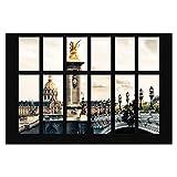 Papel pintado adhesivo - Window Pont Alexandre Paris - Mural apaisado 320x480cm