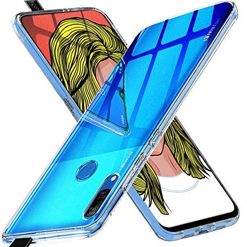Funda protectora para Huawei P Smart Z, funda ultra delgada, funda protectora resistente a los arañazos Funda protectora de silicona Funda para Huawei P Smart Z (transparente)