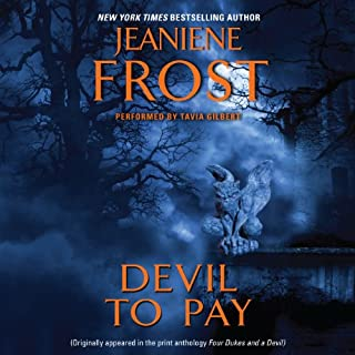 Devil to Pay                   By:                                                                                                                                 Jeaniene Frost                               Narrated by:                                                                                                                                 Tavia Gilbert                      Length: 2 hrs and 18 mins     404 ratings     Overall 4.5