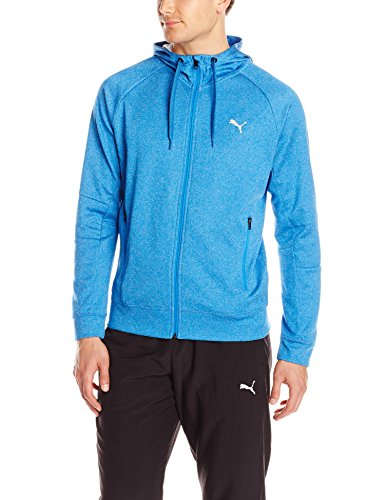 Great Price! PUMA Active P48 Hooded Jacket - Strong Blue Heather