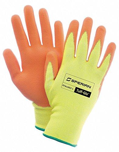 Honeywell PF541HVZ-XL Tuff-Glo HPPE/Poly Liner Hi-Viz, Yellow/Orange
