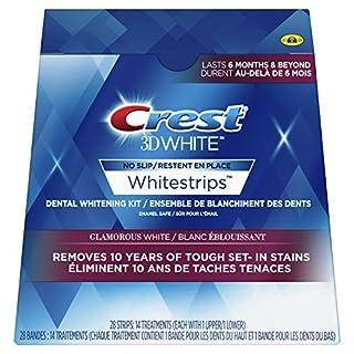 Crest 3D White Whitestrips Glamorous White Kit, 28 Teeth Whitening Strips, 14 Treatments (B00A0M1D9A)   Amazon price tracker / tracking, Amazon price history charts, Amazon price watches, Amazon price drop alerts
