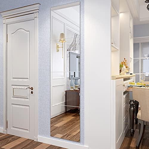 Espejo baño Espejos Pared Mirror Espejo De Pared, Amplio De Dormitorio Rectangular Espejo De Vanidad Sin Marco - Espejo De Longitud Completa - Espejo De Afeitado Decoración De Baño, 4 Em(Size:36cm*4 )