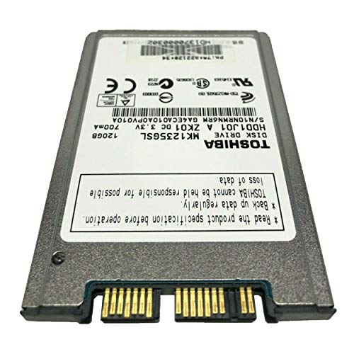 "Toshiba MK1235GSL 120 GB 1.8"" Internal Hard Drive"