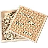small foot 10952 Wörter legen'Educate', aus FSC® 100%-zertifiziertem Holz, Lernspielzeug für ABC-Anfänger und Schüler