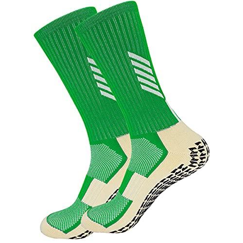VCTINA Calcetines deportivos antideslizantes para hombres, mujeres, transpirables, unisex, atléticos, de fútbol, calcetines premium para correr, para fútbol, baloncesto, correr, senderismo, ciclismo