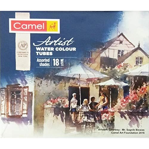 Camlin Kokuyo Artist's Water Color - 9ml Each, 18 Shades