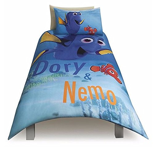 Disney Finding Dory & Nemo Single Duvet Pillow Cover Bed Set