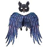 Disfraz de alas de dragón, diseño de búho, alas de dragón, disfraz...