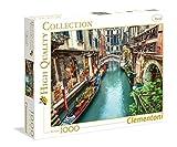 Clementoni 39328.2 - Puzzle de 1000 piezas, diseño Canal de Venecia