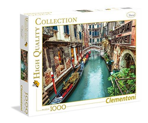 Clementoni Venice Canal 1000 Piece Jigsaw Puzzle