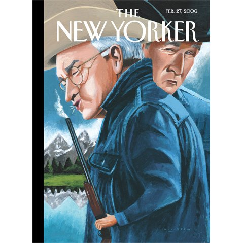 The New Yorker (February 27, 2006) cover art