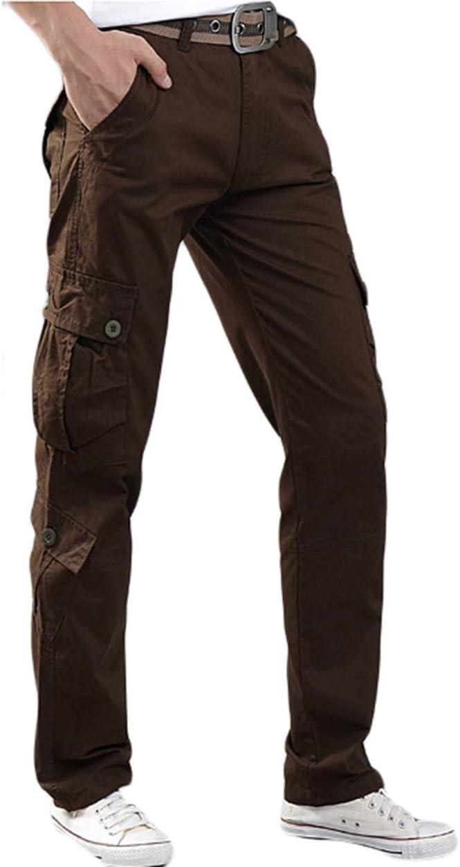 UR MAX BEAUTY Popular Men's 8 Pockets Trousers Max 50% OFF Casual Combat Workout Mi