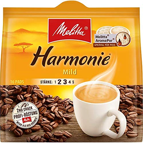 Kaffeepads rund 16ST Harmonie MELITTA 4002720001752
