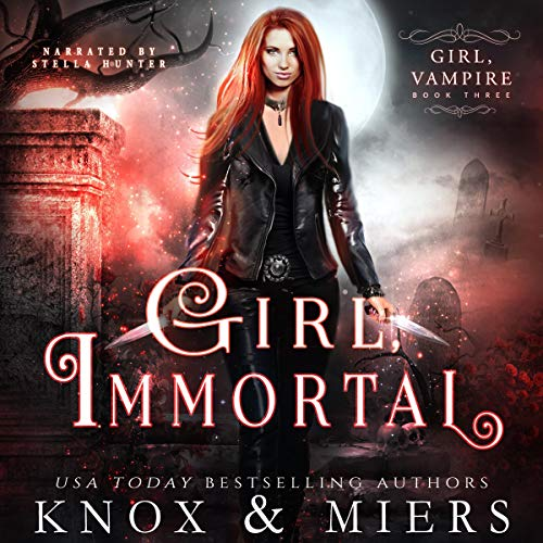 Page de couverture de Girl, Immortal
