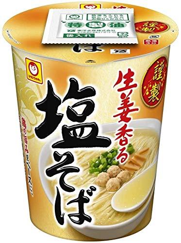 東洋水産 謹製 生姜香る塩そば 91g ×12個