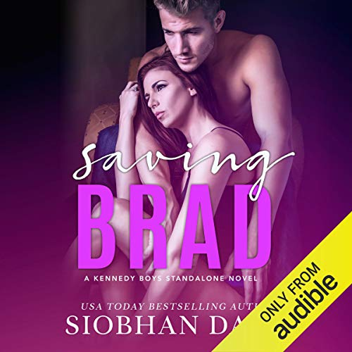 Saving Brad audiobook cover art