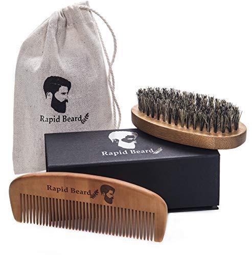 Beard Brush and Beard Comb kit