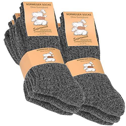 6 pares de gruesa y cálida noruegos calcetines para hombre Full acolchada calcetines, perfecta para bajas temperaturas Mantiene caliente donde sus pies más lo necesita Estas medias son extraordinariamente adecuados como calcetines calcetines de sende...