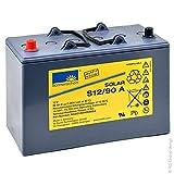 GNB Sonnenschein Solar - Batería Plomo sellada Gel Sonnenschein Solar S12/90A 12V 90Ah Auto