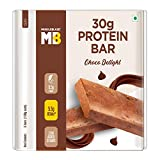 MuscleBlaze Protein Bar with Zero added sugar (30g Protein) (Chocolate Delight, Pack of 6), 100g...