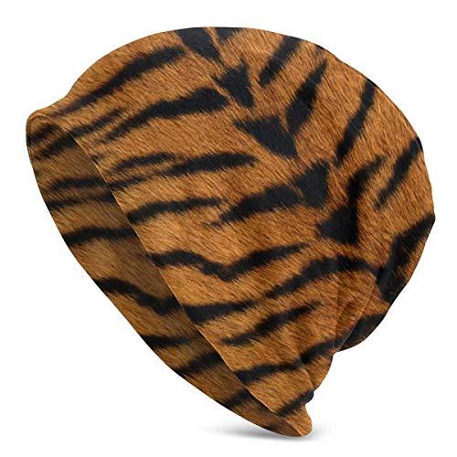 Lawenp Animal Tiger Print Daily Beanie Slouchy Soft Headwear Adult Knit Cap Beanies Cap Invierno Cálido...