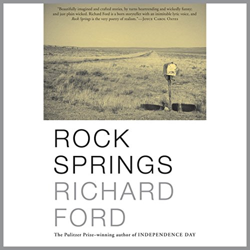 Rock Springs audiobook cover art