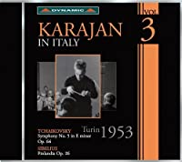 Karajan in Italy 3 by TCHAIKOVSKY / SIBELIUS (2012-04-24)