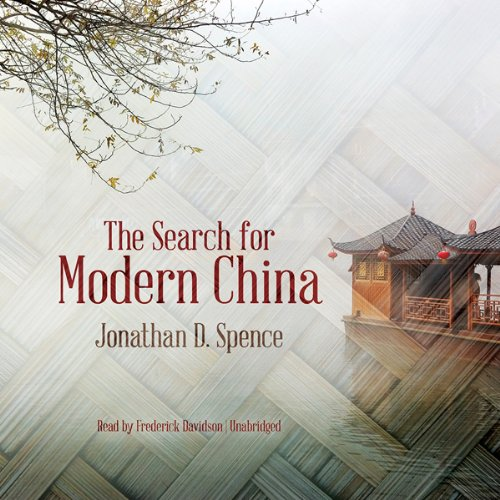 The Search for Modern China audiobook cover art