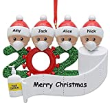 Pop Your Dream Personalized Christmas Ornament Kit Survived Family Special Keepsake Xmas Tree Hanging Home Party Holiday Decorations Xmas Gifts