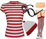 Madesmes Hommes Nerd Geek Verres Ou Est Fancy Dress Fresher Deguisement Book Day 3 &...