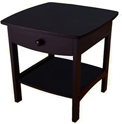 Amazon Com Winsome Wood 82218 Claire Accent Table