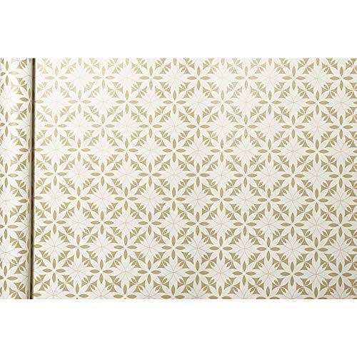 Clairefontaine Kraft - Papel de regalo, 5 x 0,35 m, diseño