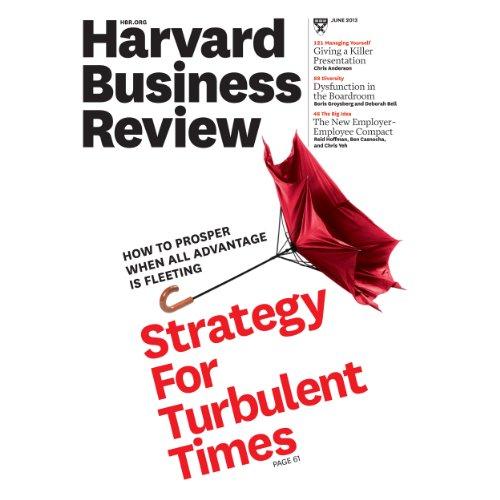 Harvard Business Review, June 2013 audiobook cover art