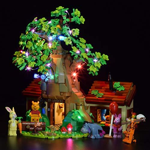 SENG Juego de iluminación LED para modelo Winnie The Pooh, compatible con Lego 21326 (modelo no incluido)