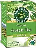 Traditional Medicinals Organic Green Tea Matcha Tea, 16 Tea Bags (Pack of 6)