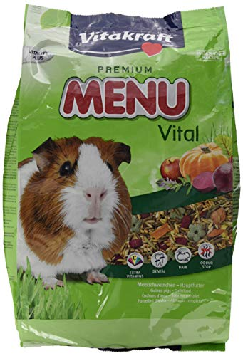 Vitakraft Premium Menü Vital, Hauptfutter für Meerschweinchen, 5 kg Packung (1 x 5 kg)
