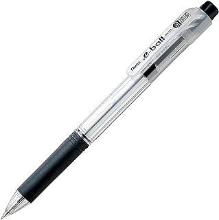 ぺんてる 油性ボールペン ドットイーボール 0.5mm黒 5本 パック XBK125-A