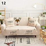 ktynskmx SofabezugSchlafsack All-Inclusive rutschfeste Teil elastische Sofabezug/Handtuch Blatt/Zwei/DREI/Viersitzer, 12,45x45cm