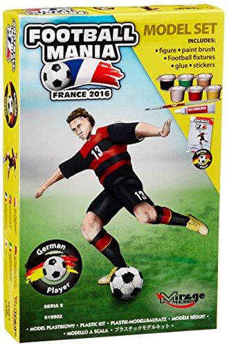 Mirage Hobby 818902 – Figurine Football Lecteur Allemagne 2016 T-Shirt Version