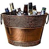 BREKX Old Tavern Copper-Finish Beverage Bucket / Drink...