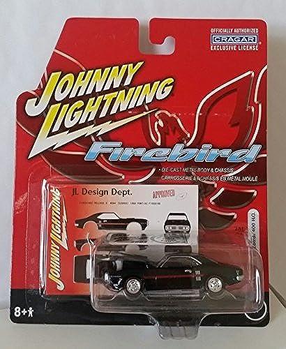 aquí tiene la última Johnny Lightning Firebird 1968 Pontiac Firebird 400 H.O. H.O. H.O. 1 64 negro by Johnny Lightning  calidad garantizada