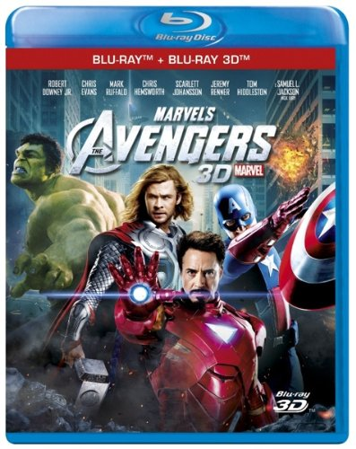 The Avengers 3d [Blu-ray]