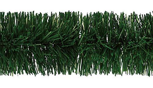 Riffelmacher 35289.0 Deko-Girlande Tannengirlande für Weihnachten oder Party, Länge 5 Meter, Tannengrün