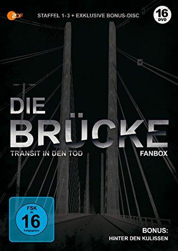 Die Brücke - Transit in den Tod - limitierte Fanbox (Staffel 1-3 + Bonus-DVD) (exklusiv bei Amazon.de)