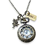 Orion Creations Alice in Wonderland Orologio a Pendente.