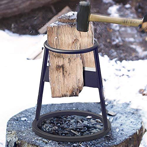 ZHANGLE Kindling Cracker, Brennholzspalter, gegen Rost Holzspaltwerkzeug Handbuch Log Splitter Wedge leicht zu tragender DIY Kindling Splitter, für Gärten im Freien,Upgrade