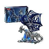 WANZPITS Kit De Construcción Sindragosa K91; Coleccionable Y Visualable Embot Frost Dragons Game Caracteres Modelo De Personajes Clásicos para Adultos, Nuevo 2021,(1388 Pieces)