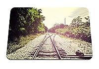 26cmx21cm マウスパッド (鉄道交通面) パターンカスタムの マウスパッド